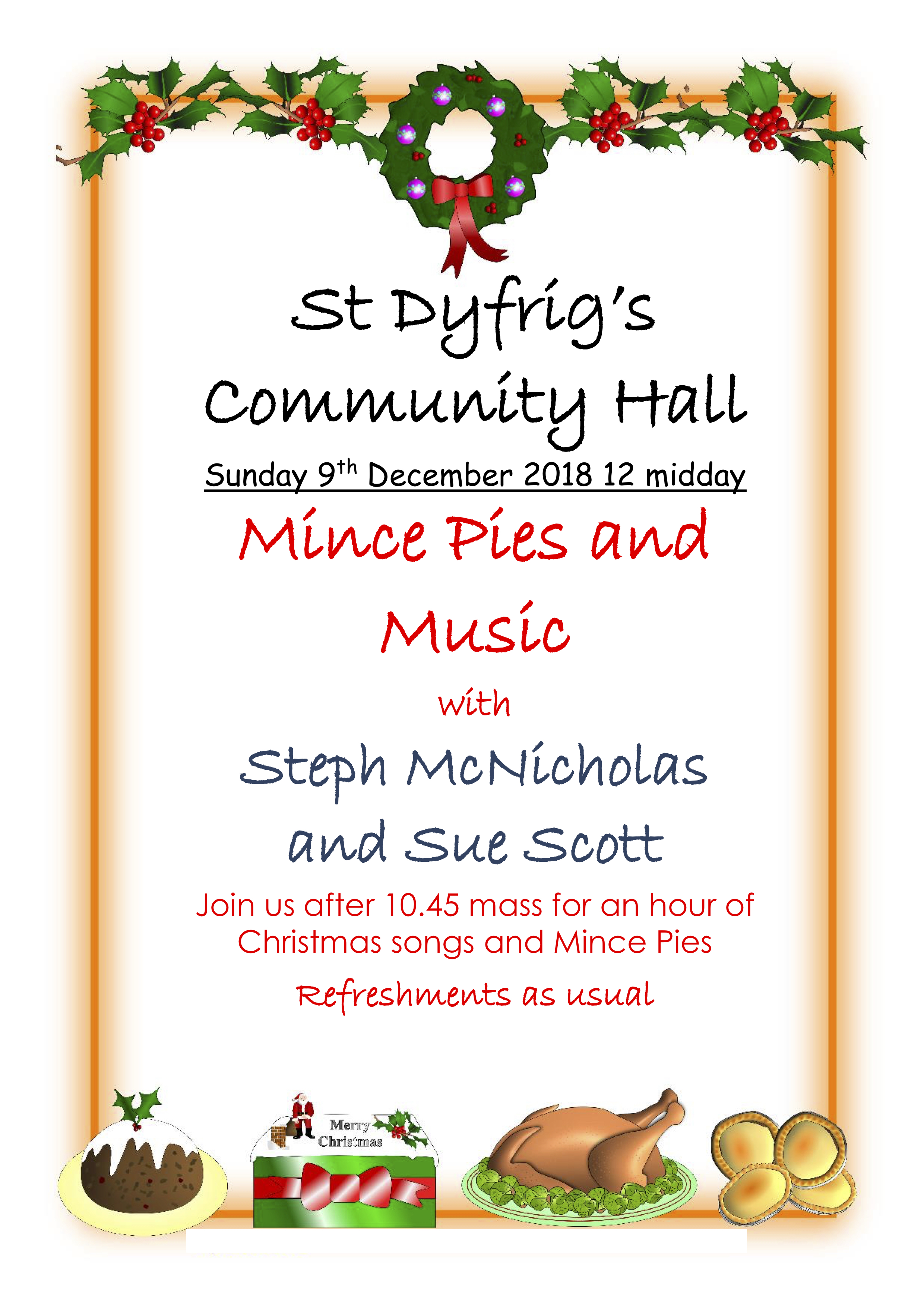 Music and Mince Pies